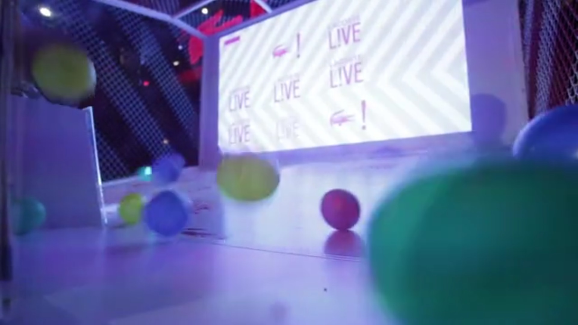 lacoste live ball game