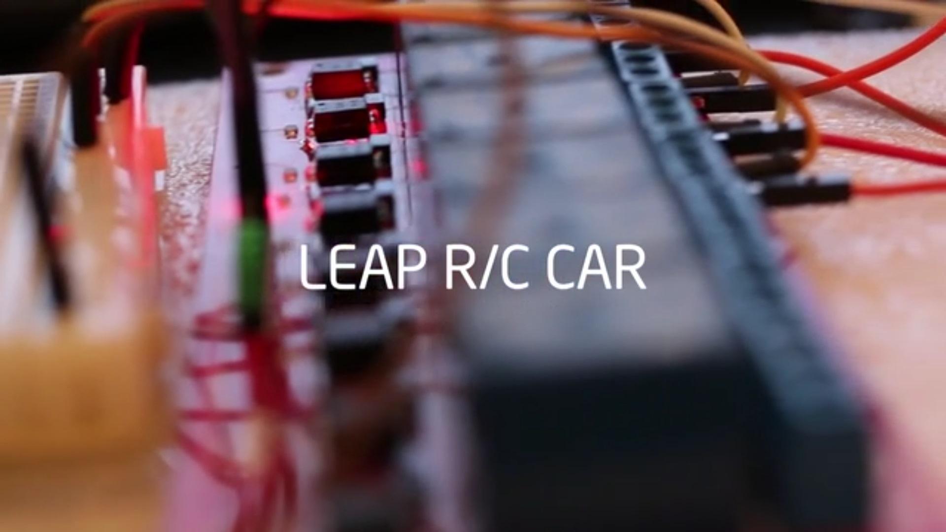 leap r/c car