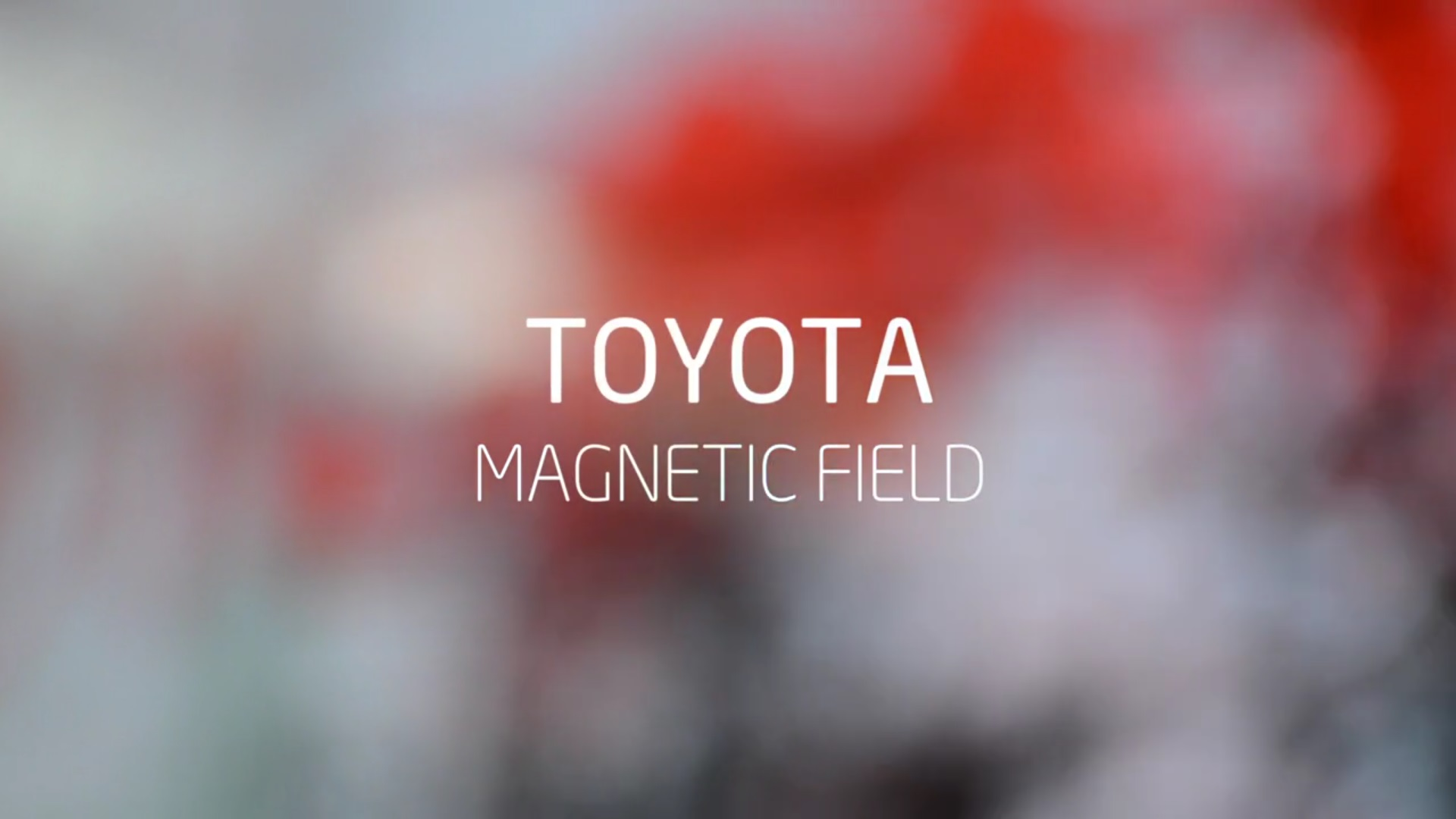 toyota magnetic field