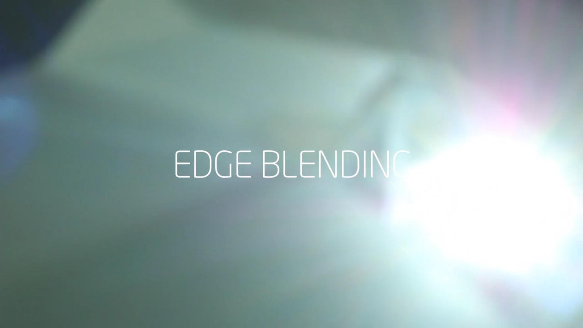 edge blending