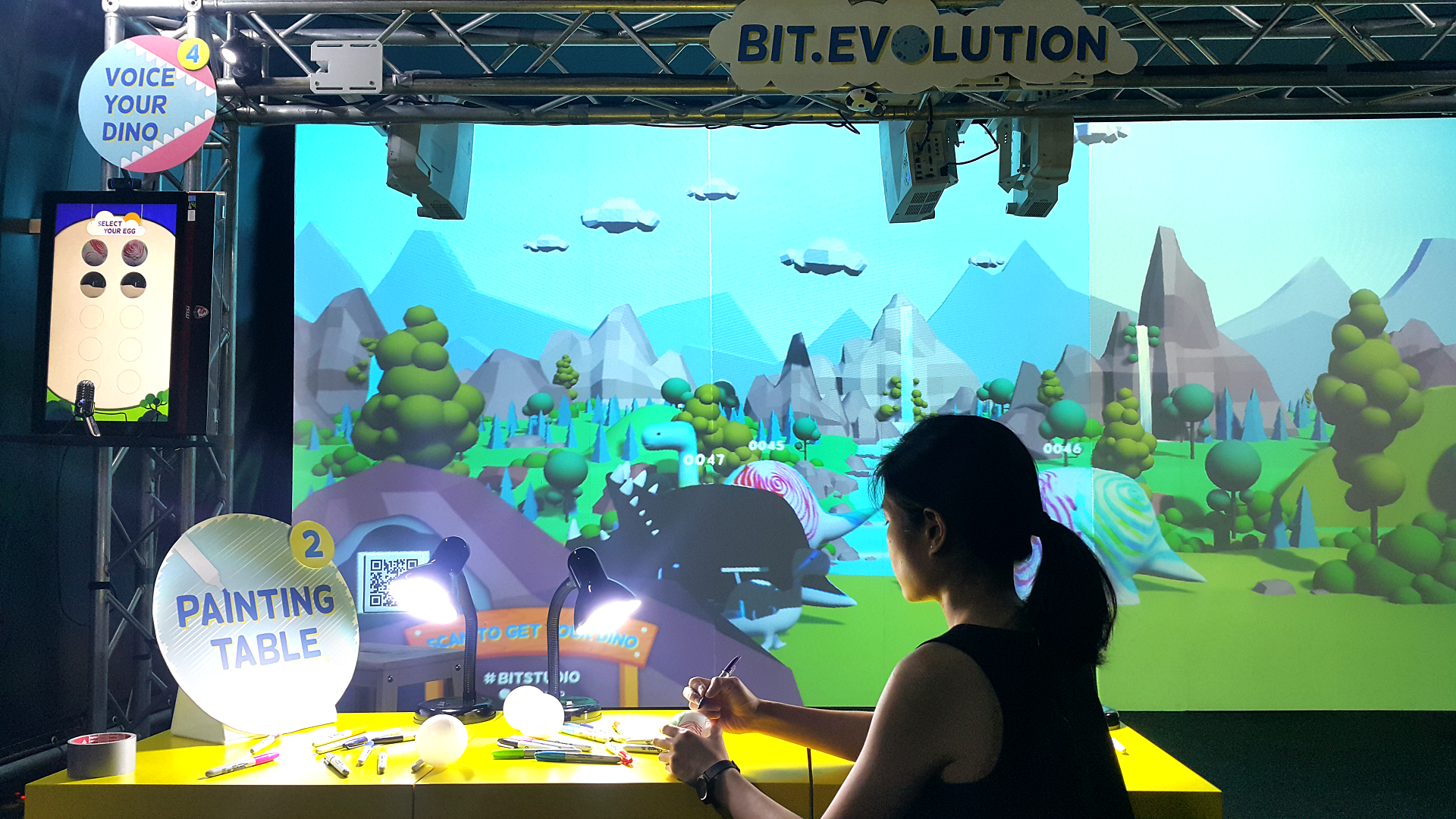 bit.evolution at maker faire bangkok 2018