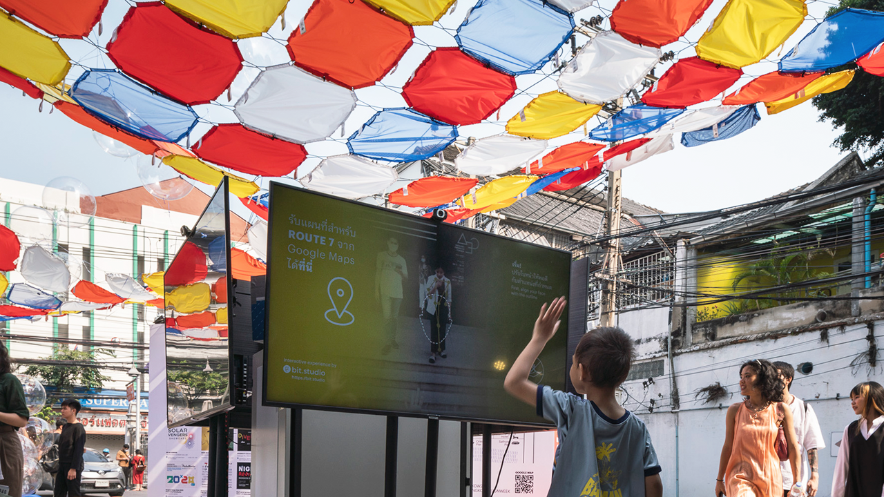 laugh alive pavilion at bangkok design week 2020